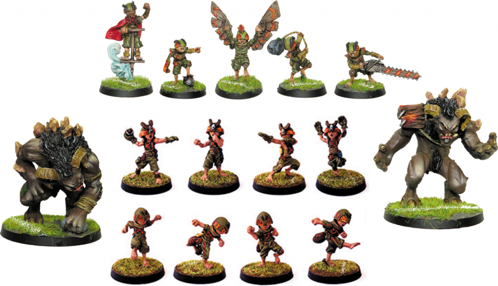 Goblin Team - Zenit Miniatures