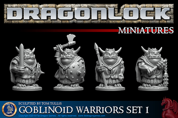 Goblinoid Warriors Set #1 - Fat Dragon Games