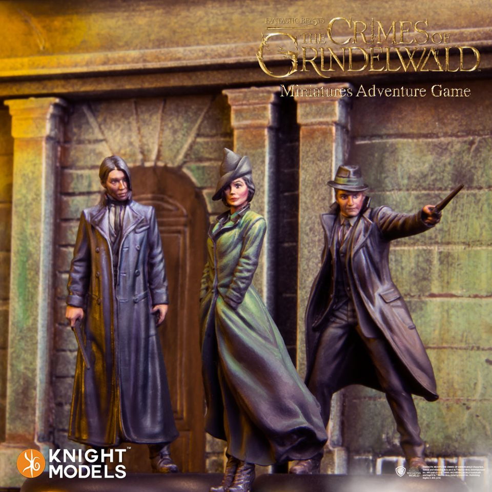 Grindelwald's Follower - Knight Models