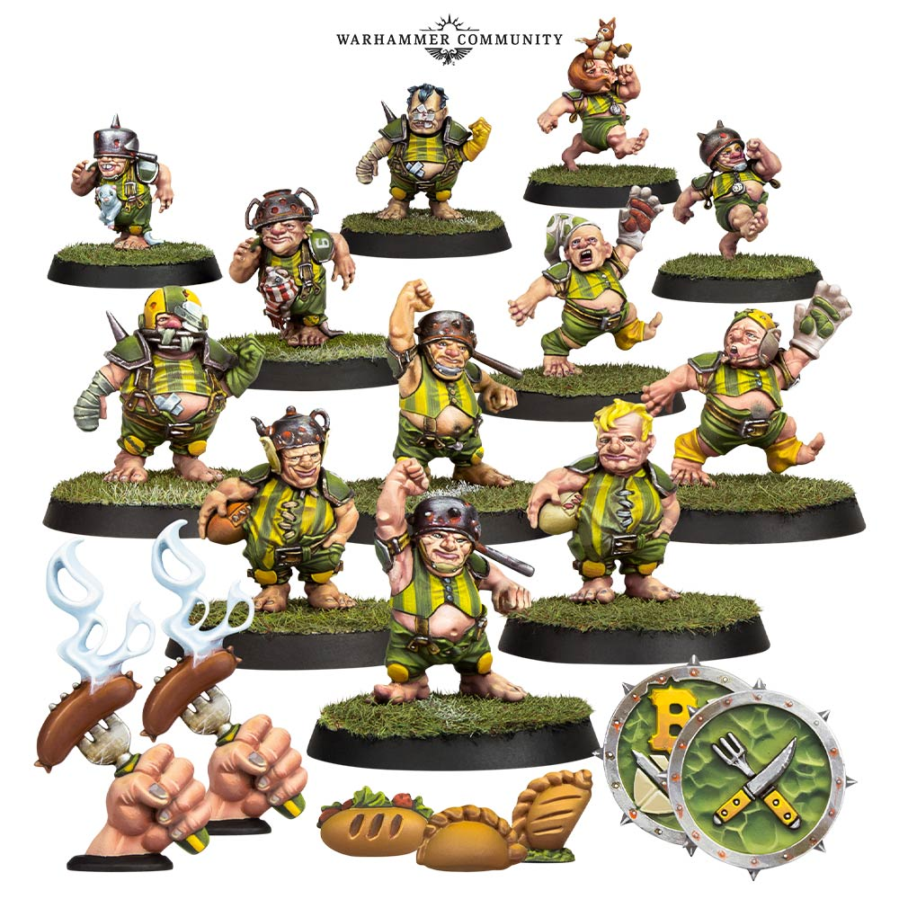Halfling Blood Bowl Team - Forge World