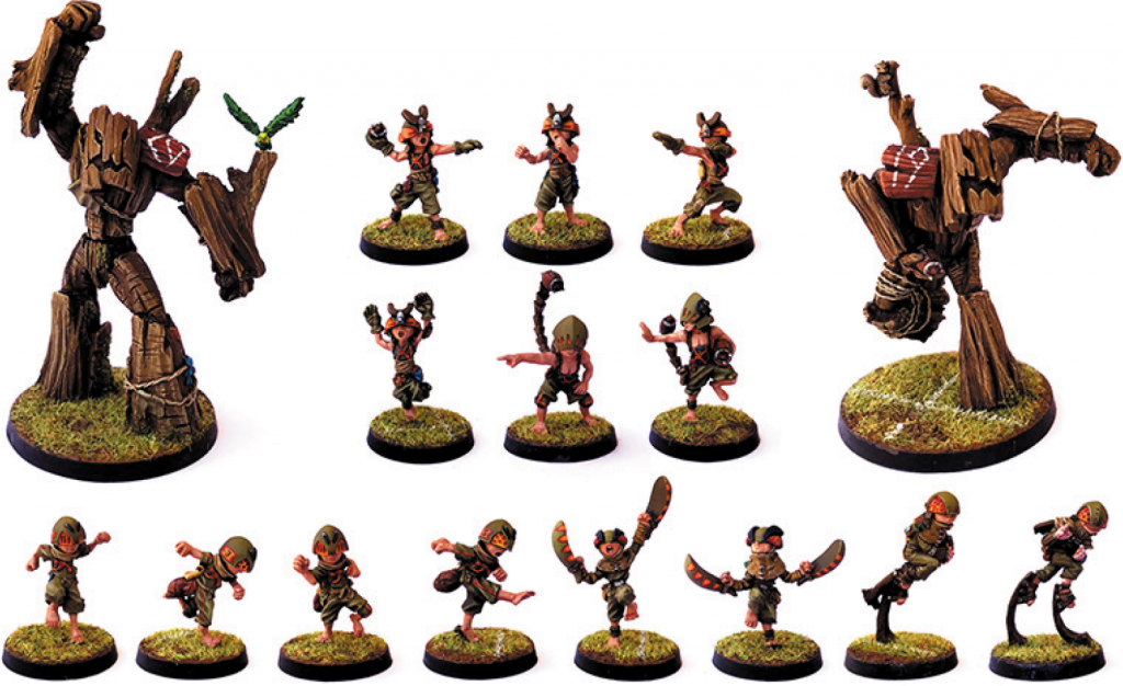 Halfling Team - Zenit Miniatures