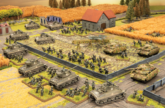 Hit The Beach Armies - Flames Of War