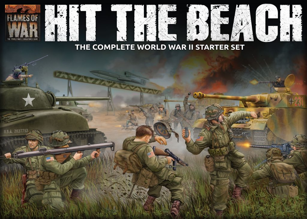 Hit The Beach Starter - Flames Of War