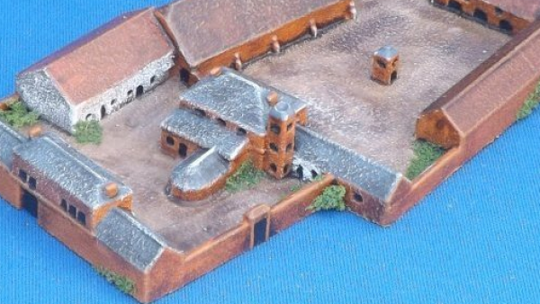 Brigade Face Their Waterloo With New 2mm Terrain