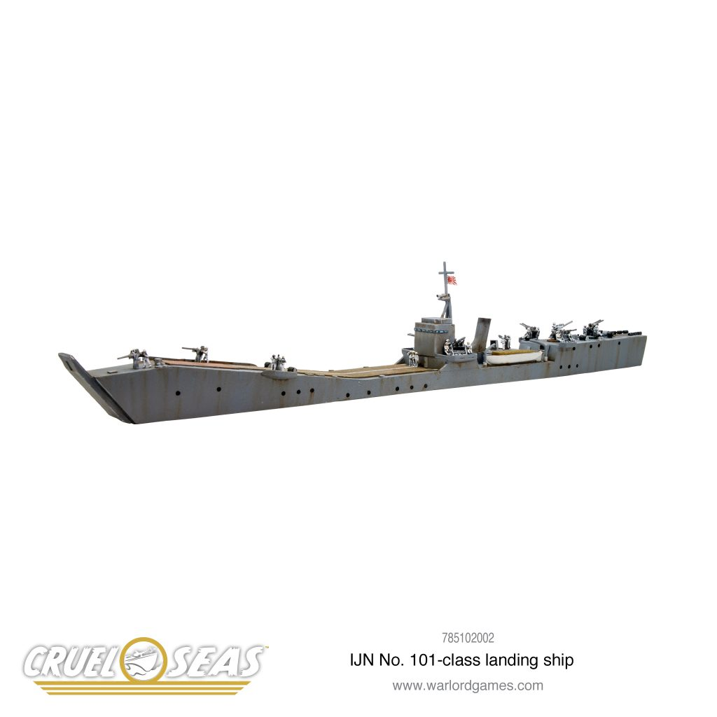 IJN No 101 Class Landing Ship - Warlord Games