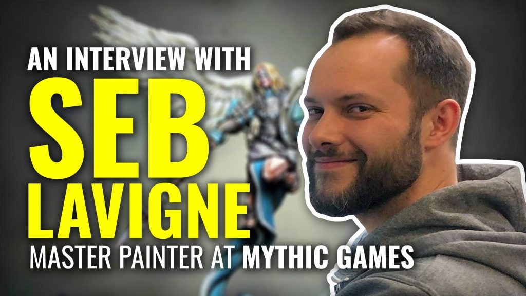 Behind The Board Games: Sébastien Lavigne, Professional Painter
