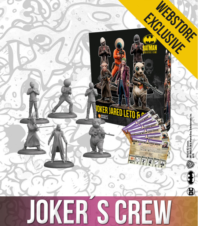 Joker's Crew - Knight Models