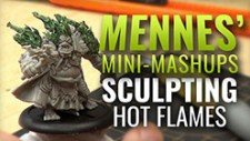 Mennes' Mini Mashup: Sculpting Raging Flames