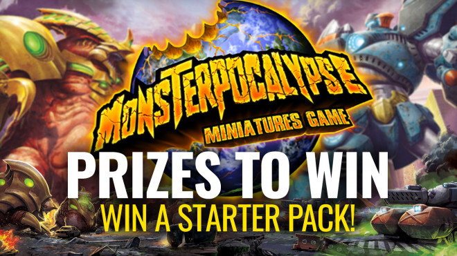 UK Games Expo 2019 Livestream – WIN Monsterpocalypse Starter Bundles!