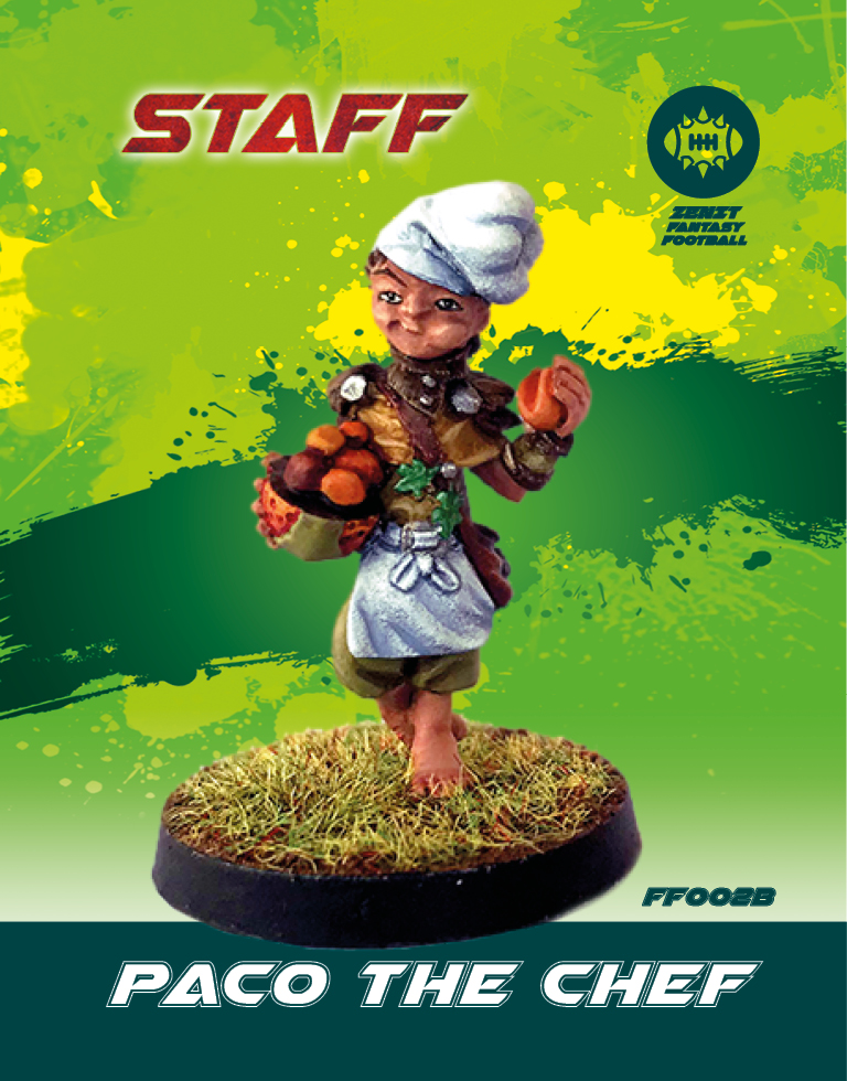 Paco The Chef - Zenit Miniatures