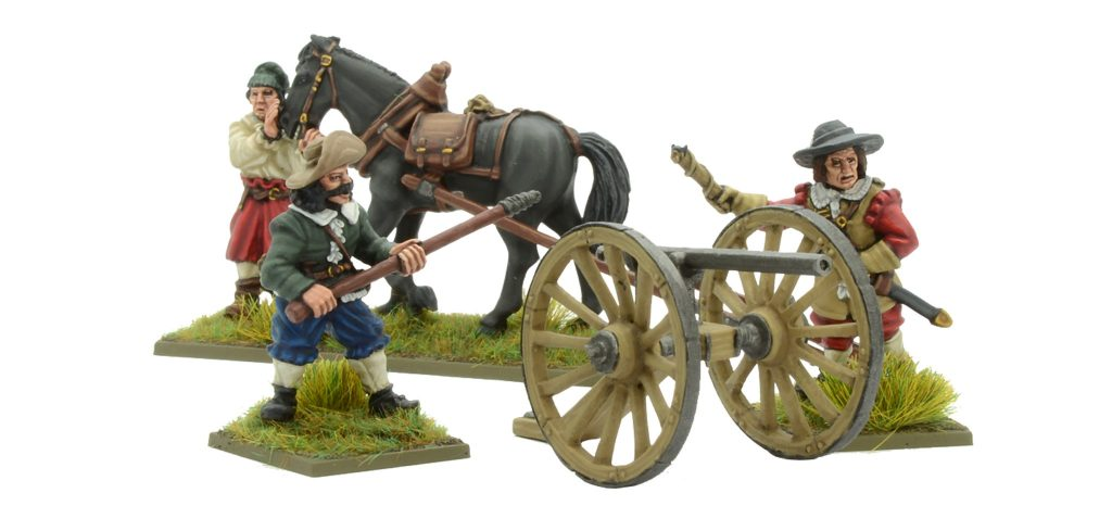 Pike & Shotte Galloper Gun #1 - Warlord Games