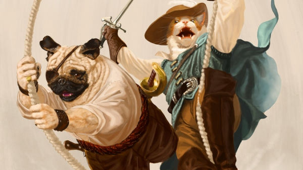 Yar Be A Good Sea Dog In Pirates Of Pugmire