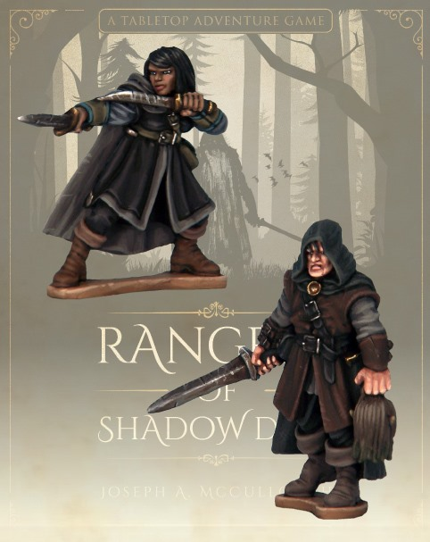 Rangers Of Shadowdeep #1 - North Star Military Figures