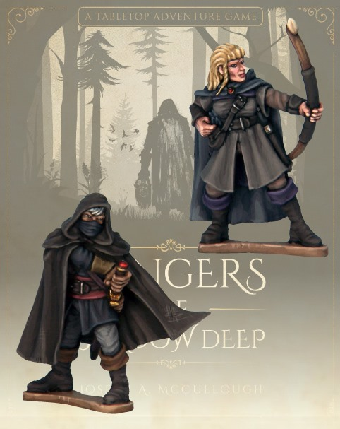 Rangers Of Shadowdeep #2 - North Star Military Figures
