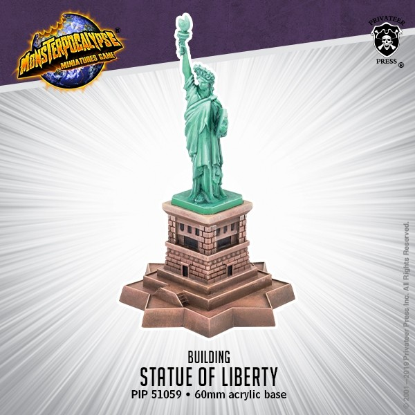 Statue Of Liberty - Monsterpocalypse