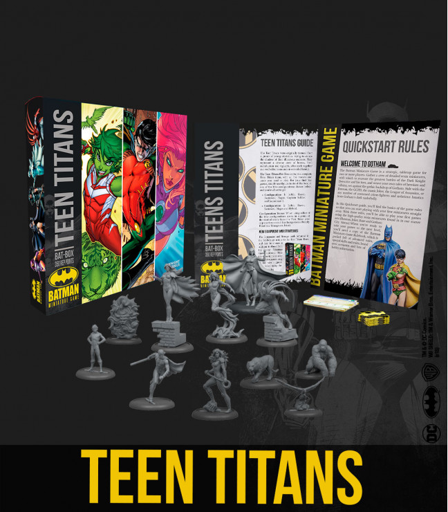 Teen Titans Batbox - Knight Models