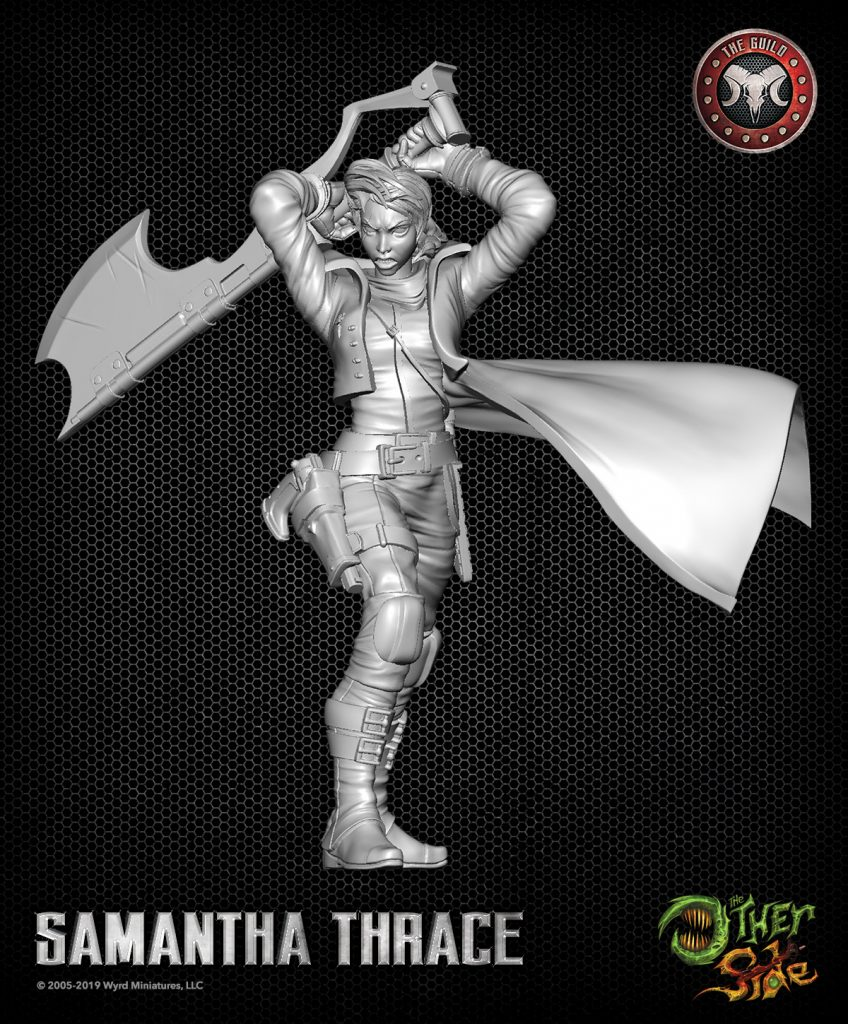 The Other Side Samantha Thrace - Wyrd Games