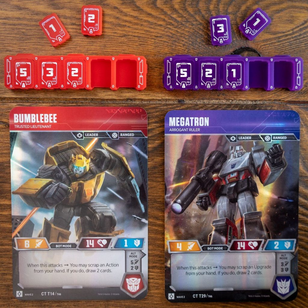 Transformers Health Bars - Team Covenant