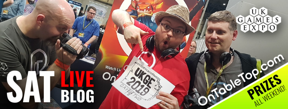 UK Games Expo 2019: Saturday Live Blog [WIN A Massive Dragon!]