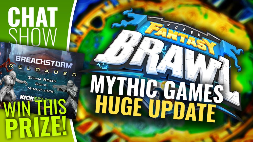 Weekender: Mythic Talk New Games & WIN Breachstorm Two-Player Set