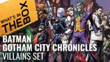 Batman Gotham City Chronicles Unboxing: Villains Set