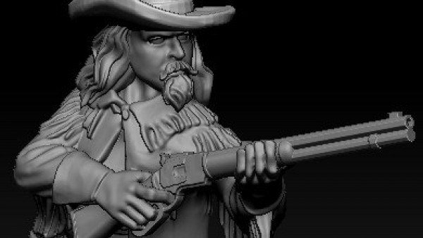 Buffalo Bill Joins Knuckleduster's Gunfighter's Ball