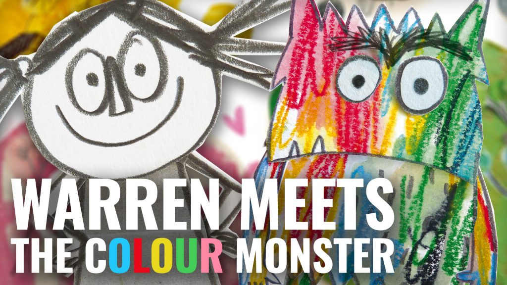 Warren Meets The Colour Monster [Comment To Win]