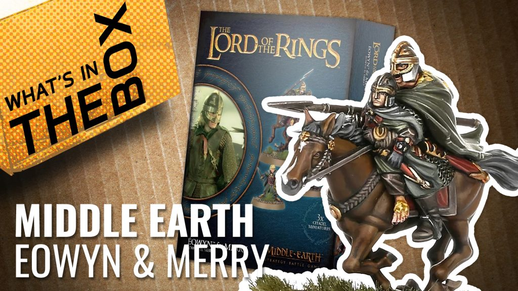 Middle Earth Unboxing: Éowyn & Merry