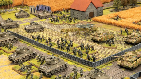 Fury & Hit The Beach Previews Pop Up For Flames Of War