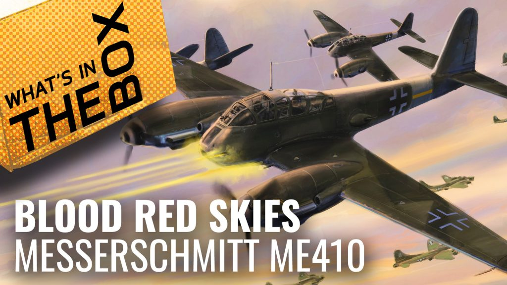 Blood Red Skies Unboxing: Messerschmitt ME 410 Squadron