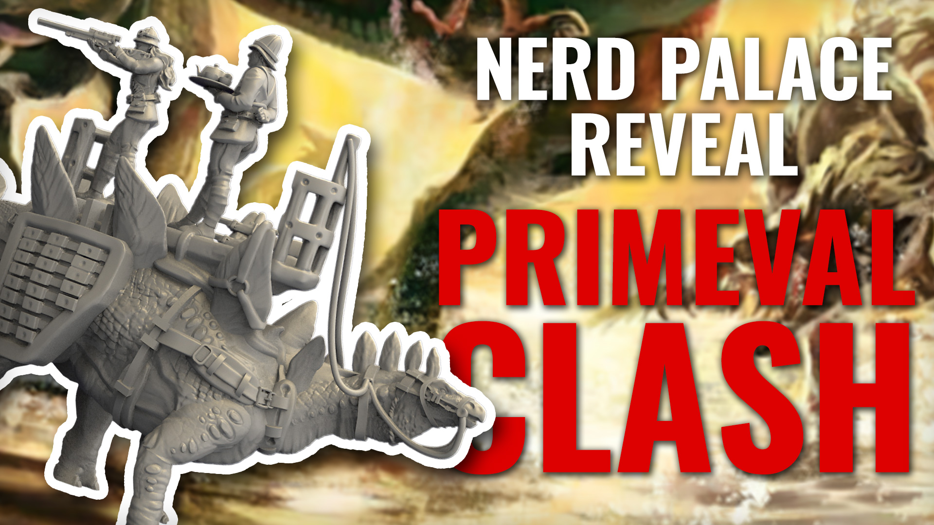 Dinosaurs Go To War As Nerd Palace Announce Primeval Clash