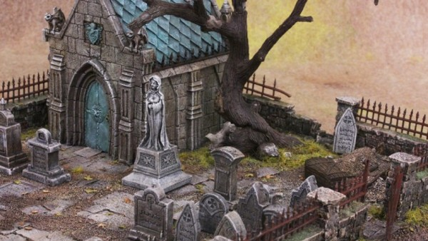 Tabletop World Re-Release Graveyard Terrain Bundle