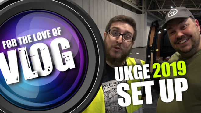 VLOG: UKGE 2019 Set-Up