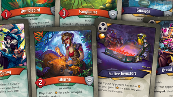Untamed & Shadow Teasers For Fantasy Flight's KeyForge