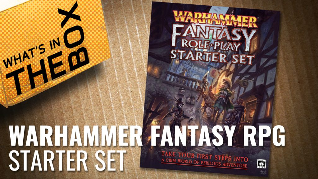 Unboxing: Warhammer Fantasy Role Play Starter Set