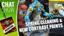 Weekender XLBS: GW Contrast Paints & Spring Cleaning