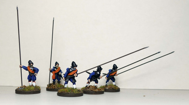 Dutch armoured pikemen