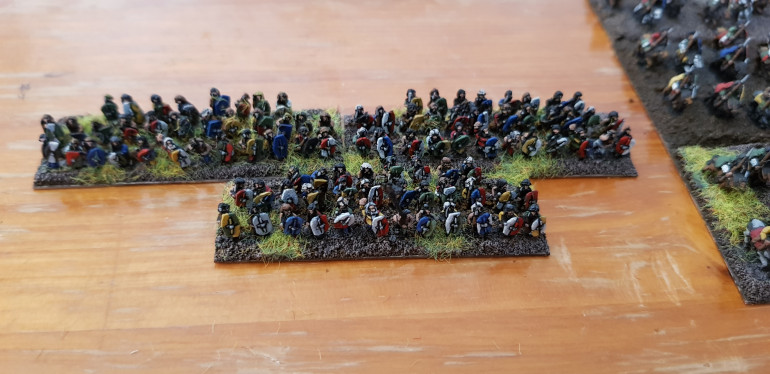 The warbands get the basing treatment