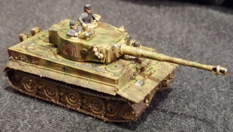 Other side of the command Tiger, in case you thought it might be different