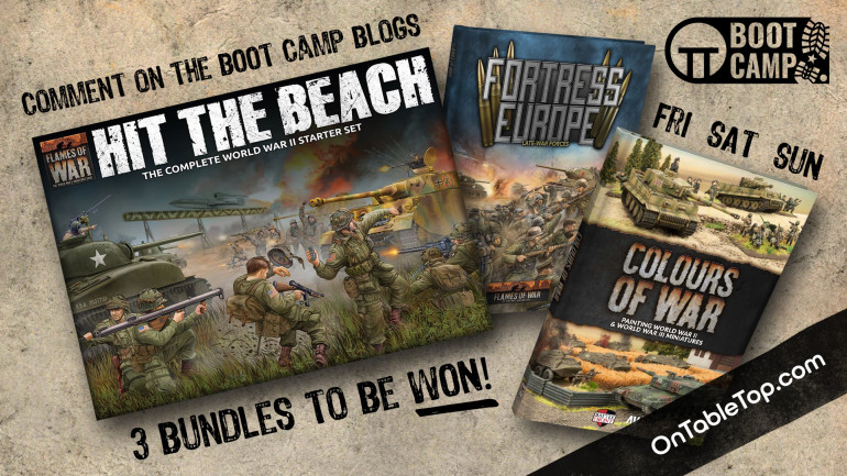 Welcome to Day Two of the Flames of War D-Day Boot Camp