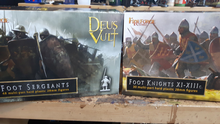 Right I should be able to do most of the warband with these 2 boxes