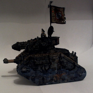 3rd Armoured Division Savlar Chem-Dogs – Tank E – Commissar's Tank Finished