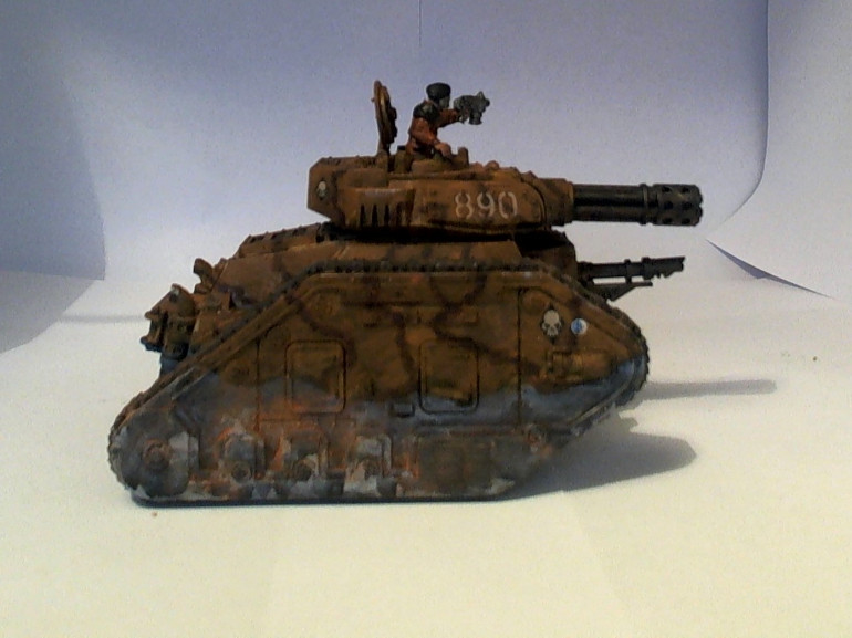 Leman Russ Punisher Side View