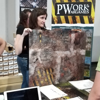 PWork Wargames Get Warren Excited About Mats - Comment To Win!