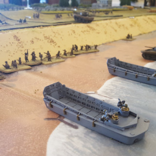 Justin & Chris Checks Out a 20ft D-Day Gaming Table