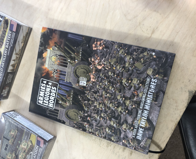 I've been reading Dave Taylor's book on painting armies. It's a good read, and helped kick me up the arse into getting one of my longest running projects over the finish line.