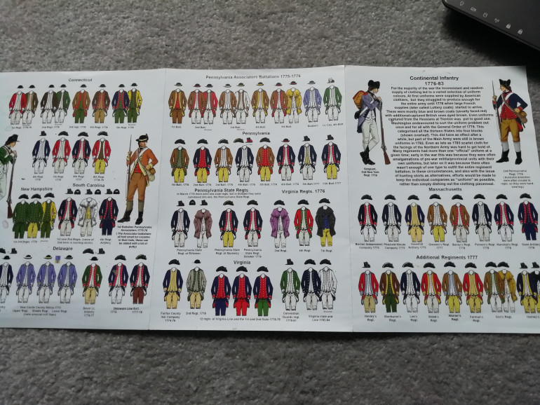 The variety of colours for rebel units.