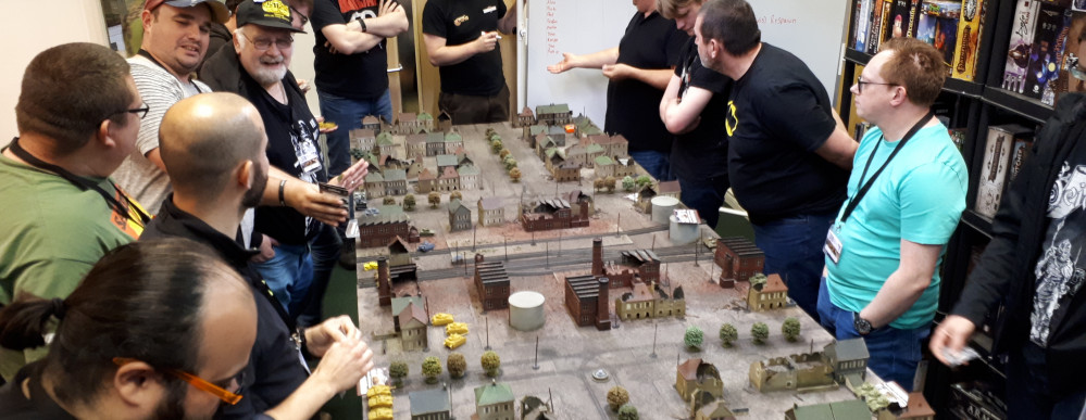 And So The Most Chaotic Flames Of War Game Ever Took Place...