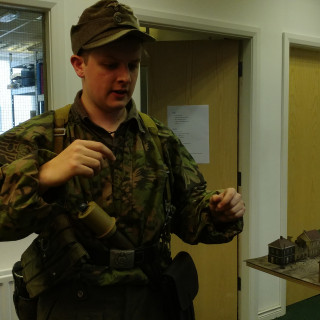 Lewis Gears US Up On The SS Panzer Grenadier Division's Gear