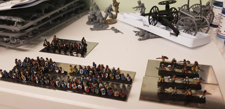 Some skirmishers and cavalry added